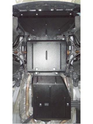 Защита двигателя, КПП, раздат. коробки для авто Dodge Durango 2010- V-3,6 АКПП ( TM Kolchuga ) ZiPoFlex