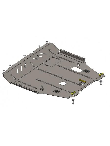 Защита двигателя, КПП, радиатора для авто Suzuki SX-4 2013- V-1,6 (АКПП, МКПП) ( TM Kolchuga ) ZiPoFlex