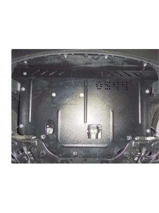 Защита двигателя, КПП, радиатора для авто Kia Soul 2014- V-1,6; 1,6D; (МКПП, АКПП) ( TM Kolchuga ) ZiPoFlex