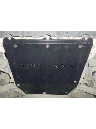 Защита двигателя, КПП, радиатора для авто Renault Laguna III 2007-2011 V-2,0i; 1,5DCI; ( TM Kolchuga ) ZiPoFlex