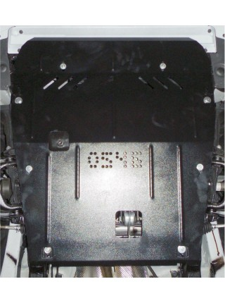 Защита двигателя, КПП, радиатора для авто Renault Dokker 2012- V-все ( TM Kolchuga ) ZiPoFlex
