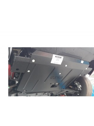 Защита двигателя, КПП, радиатора для авто Ford Transit Transit Custom 2013-2016- V-2.2 TDCI (МКПП) ( TM Kolchuga ) ZiPoFlex