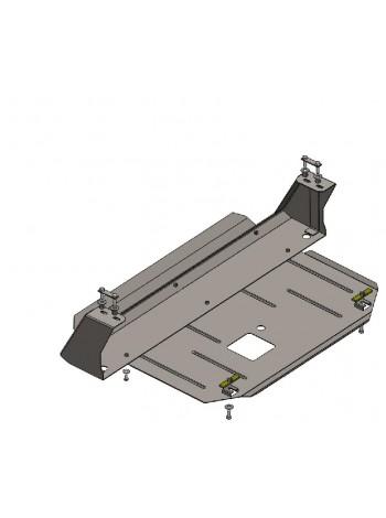 Защита двигателя, КПП, радиатора для авто Ford Transit Transit Custom 2013-2016- V-2.2 TDCI (МКПП) ( TM Kolchuga ) Стандарт