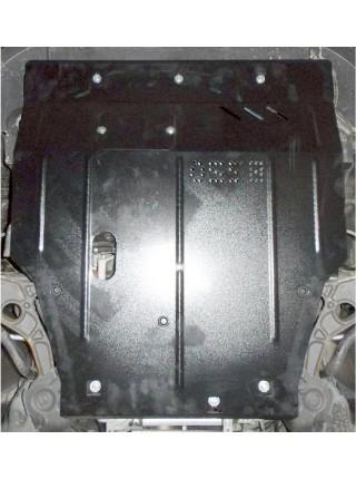 Защита двигателя, КПП, радиатора для авто Fiat Freemont 2011- V-2,0 JTD; 2,4 ( TM Kolchuga ) ZiPoFlex
