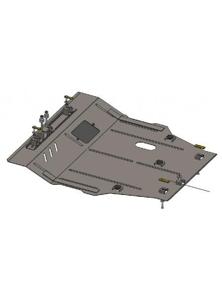 Защита двигателя, КПП, радиатора для авто Dodge Journey 2011- V-2,0 JTD 2,4 ( TM Kolchuga ) Стандарт