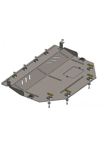 Защита двигателя, КПП, радиатора для авто Mazda 6 GJ 2012- V-все ( TM Kolchuga ) ZiPoFlex