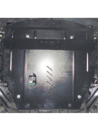 Защита двигателя, КПП, радиатора для авто Nissan X-Trail T32 2014-2017 V-все ( TM Kolchuga ) ZiPoFlex