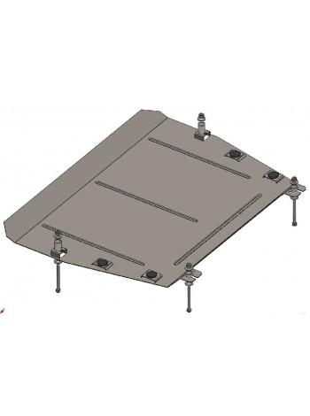 Защита двигателя и КПП для авто Toyota Highlander 2013- V-3,5 (АКПП) ( TM Kolchuga ) ZiPoFlex
