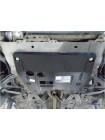 Защита двигателя, КПП для авто Renault Kangoo 1997-2007 V-все, кроме 1,2 бензин ( TM Kolchuga ) ZiPoFlex