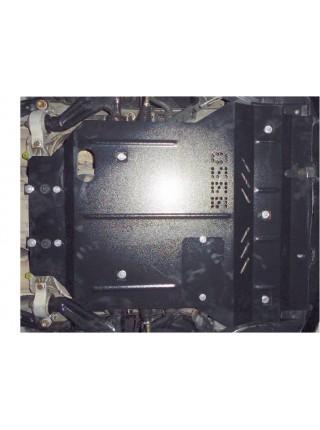 Защита двигателя, радиатора для авто Lexus GS 430 2005-2012 V-4,3 АКПП только задний привод ( TM Kolchuga ) ZiPoFlex