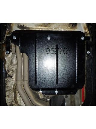 Защита КПП для авто BMW 5-й сериї E60 E61 2003-2010 V-2,0D 3,0 АКПП задний привод ( TM Kolchuga ) ZiPoFlex