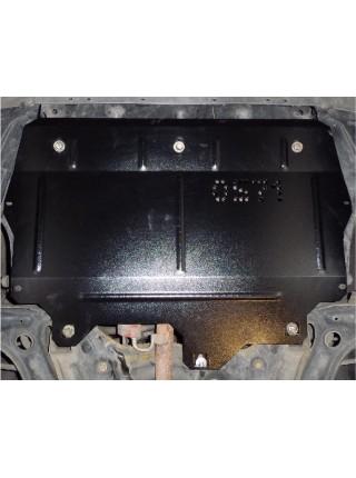 Защита двигателя, КПП, радиатора для авто Skoda Fabia II 2007-2014 только V-1,2 ( TM Kolchuga ) ZiPoFlex