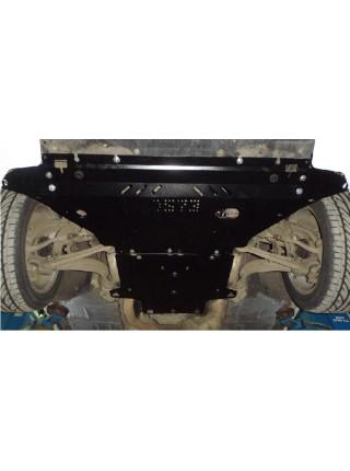 Защита двигателя, КПП, радиатора для авто Audi A5 В8 2007-2011 V-1,8 2,0TFSI только гидроусилитель ( TM Kolchuga ) Стандарт