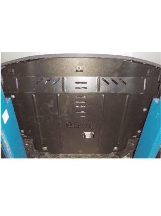 Защита двигателя, КПП, радиатора для авто Kia Rio IV 2011-2016 V-все (сборка Корея) ( TM Kolchuga ) ZiPoFlex
