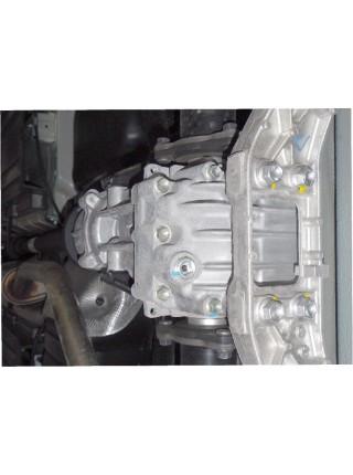 Защита заднего моста для авто Suzuki SX-4 2013- V-1,6 (АКПП, МКПП) ( TM Kolchuga ) ZiPoFlex