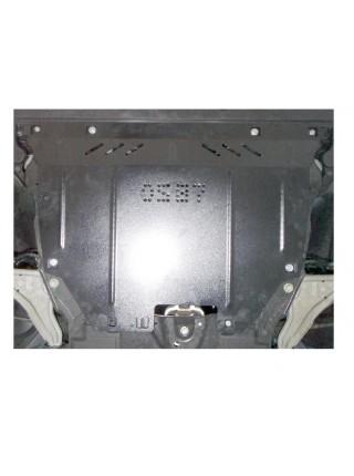 Защита двигателя, КПП, радиатора для авто Ford Mondeo 2015- V-все (устанавливается сборка USA, Hybrid) ( TM Kolchuga ) ZiPoFlex