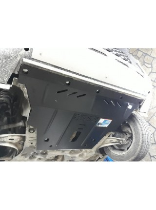 Защита двигателя, КПП для авто Jeep Renegade 2014- V-1,4i turbo; 1,6; (АКПП, 4х4) ( TM Kolchuga ) ZiPoFlex