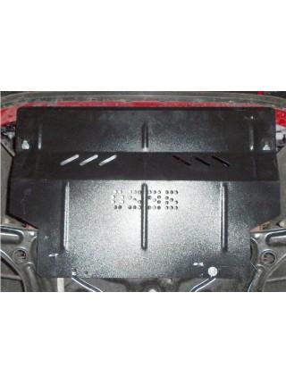 Защита двигателя, КПП, радиатора для авто Skoda Citigo 2012- V-1,0 МКПП ( TM Kolchuga ) ZiPoFlex