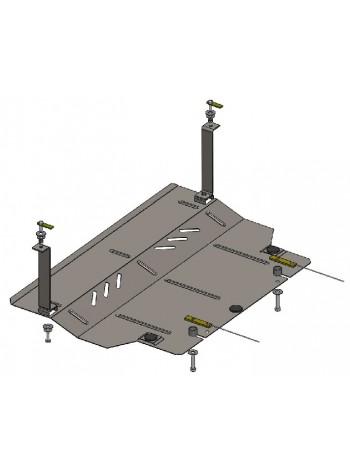 Защита двигателя, КПП, радиатора для авто Skoda Citigo 2012- V-1,0 (МКПП) ( TM Kolchuga ) Стандарт