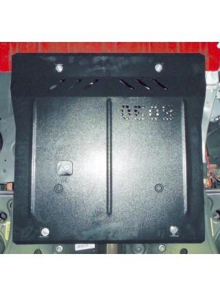 Защита двигателя, КПП, радиатора для авто Opel Corsa Е 2015- V-1,0; 1,4; ( TM Kolchuga ) ZiPoFlex