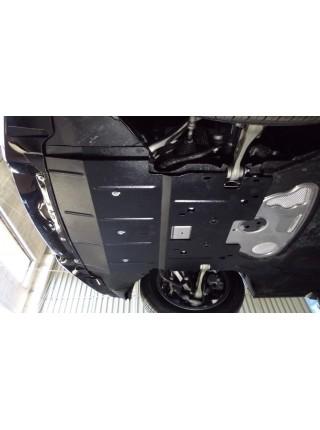 Защита двигателя, радиатора для авто BMW 5-й сериї 528i (F10) 2010- V-3,0D 2,0 АКПП только 4х4 ( TM Kolchuga ) ZiPoFlex