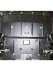 Защита двигателя, радиатора для авто BMW 5-й сериї 528i (F10) 2010- V-3,0D; 2,0; (АКПП, только 4х4) ( TM Kolchuga ) Стандарт