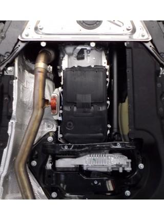 Защита двигателя, КПП, радиатора для авто BMW X5 (F15) 2013- V-3,5i 3,0D АКПП ( TM Kolchuga ) Стандарт