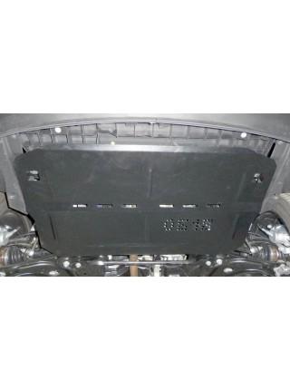 Защита двигателя, КПП, радиатора для авто Citroen С4 Cactus 2014- V-1.2i PureTech AКПП ( TM Kolchuga ) ZiPoFlex