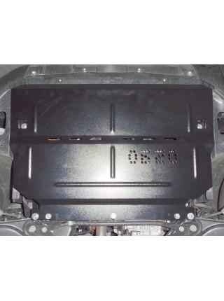Защита двигателя, КПП, радиатора для авто Peugeot 208 2012- V-1,4D (робот) ( TM Kolchuga ) ZiPoFlex