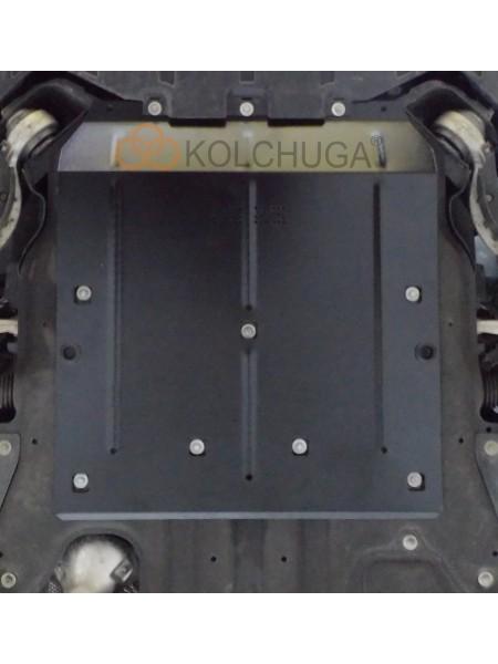 Защита двигателя для авто Jaguar XF AWD R SPORT 2016- V-2,5D (АКПП, задний привод) ( TM Kolchuga ) Стандарт