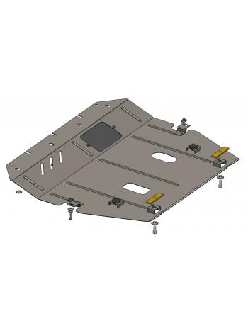 Защита двигателя, КПП, радиатора для авто Nissan Sentra 2014-2016 V-1,6и ( TM Kolchuga ) Стандарт