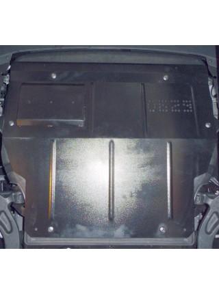 Защита двигателя, КПП, радиатора и кондиционера для авто Volkswagen T-5, Т-6, 2003- V-все (устанавливается поверх штатной защиты) ( TM Kolchuga ) ZiPoFlex