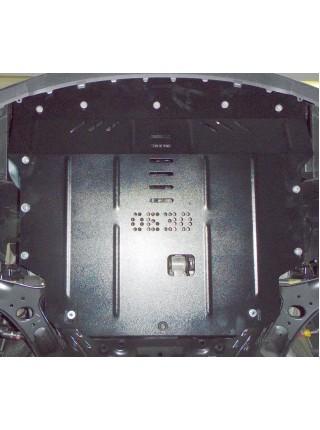 Защита двигателя, КПП, радиатора для авто Hyundai Accent IV 2010-2017 V-все только Корейская сборка ( TM Kolchuga ) ZiPoFlex