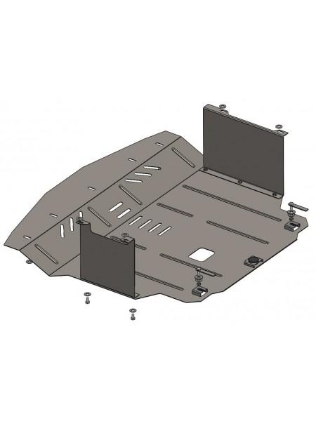 Защита двигателя, КПП, радиатора для авто Hyundai Accent IV 2010-2017 V-все (только Корейская сборка) ( TM Kolchuga ) ZiPoFlex