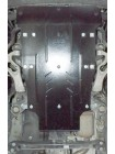 Защита двигателя, КПП, радиатора для авто Porsche Cayenne 2007-2010 V-3.0 D; 3,6; 4.2; quattro (АКПП) ( TM Kolchuga ) ZiPoFlex