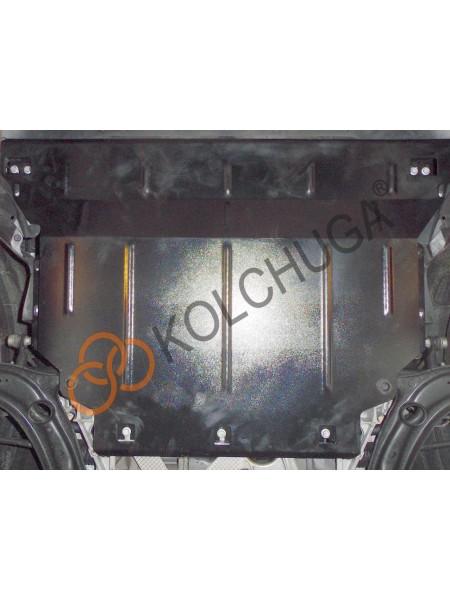 Защита двигателя, коробки передач и радиатора для авто Volkswagen Jetta 2018- V-1,4i; 1,8; 2,0TDI ( TM Kolchuga ) Стандарт