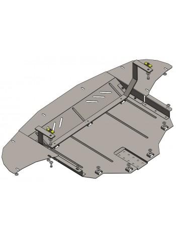 Защита двигателя, КПП, радиатора для авто Hyundai Tucson TL 2015- V-2,0i; 1,7CRDI; 2,0CRDI; ( TM Kolchuga ) Стандарт