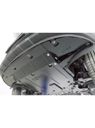Защита двигателя, КПП, радиатора для авто Kia Sportage IV QL 2015-2018 V-2,0i; 1.6GDI; 1,7CRDI; 2,0CRDI; ( TM Kolchuga ) ZiPoFlex