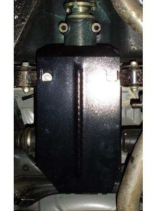 Защита заднего моста для авто Subaru Legacy IV 2009-2014 V-2,0D; 2,5; (вариатор Lineartronic после 05.2013) ( TM Kolchuga ) ZiPoFlex