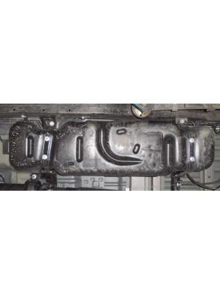 Защита защита бака для авто Ford Ranger 2011- V-2,2ТDI; 3,2ТD; ( TM Kolchuga ) ZiPoFlex
