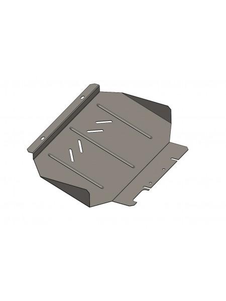 Защита защита радиатора для авто Ford Ranger 2011- V-2,2ТDI; 3,2ТD; ( TM Kolchuga ) ZiPoFlex