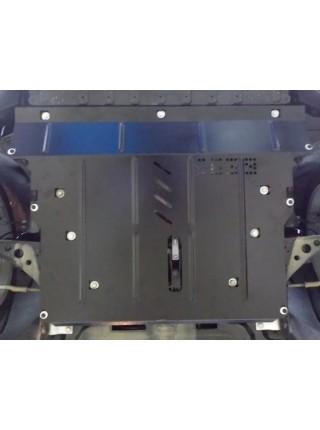Защита двигателя, КПП, радиатора для авто Opel Astra K 2015- V-1,6CDTI; 1,4i; ( TM Kolchuga ) ZiPoFlex