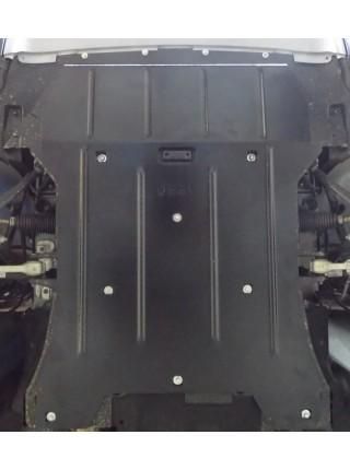 Защита двигателя, радиатора для авто BMW X3 (F25) xDrive 2010-2017 V-2.0i; 2,8; 2,0D ( TM Kolchuga ) ZiPoFlex