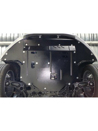 Защита двигателя, КПП, радиатора для авто Hyundai Elantra VI (AD) 2016- V-1,6GDI 2,0 АКПП ( TM Kolchuga ) Стандарт