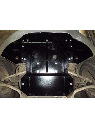 Защита двигателя, КПП, радиатора для авто Audi A8 D3 2005-2010 V-4,2TDI (АКПП) ( TM Kolchuga ) ZiPoFlex