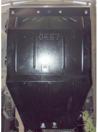Защита двигателя, КПП, радиатора для авто Mercedes-Benz Viano D (W 639) 2005-2010 V-2,2 СDI (4х4, АКПП) ( TM Kolchuga ) ZiPoFlex
