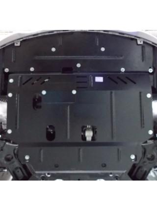Защита двигателя, КПП, радиатора для авто Hyundai I-30 2016-2017 V-1,6 ( TM Kolchuga ) Стандарт
