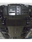 Защита двигателя , КПП, радиатора, раздат. коробки, редуктор для авто Great Wall Wingle6 2014- V-2,0D (МКПП) ( TM Kolchuga ) ZiPoFlex