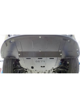 Защита двигателя, КПП, радиатора для авто Kia Optima 2015- V-все ( TM Kolchuga ) ZiPoFlex