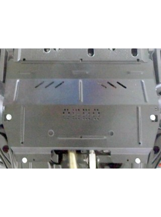 Защита двигателя, КПП для авто Peugeot 2008 2016- V-1,2i (робот) ( TM Kolchuga ) ZiPoFlex